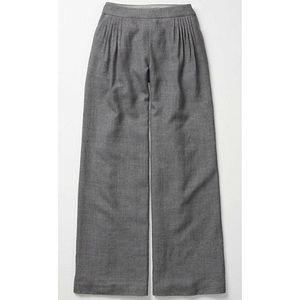 NWT Elevenses Pleated Wool Wide Leg Pants Size 6